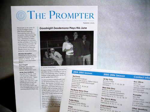 Footlight Club Prompter